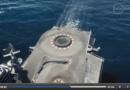 BMW M4 sur un porte-avions !