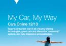 Etude Cap Gemini «Cars Online 2013″.