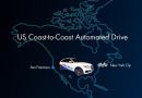 Voiture autonome, Delphi et Audi : Traversée des USA.